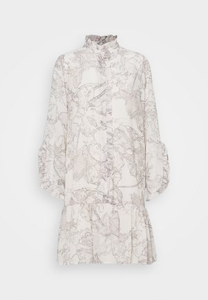 IVY ROSEMARY DRESS - Shirt dress - snow white