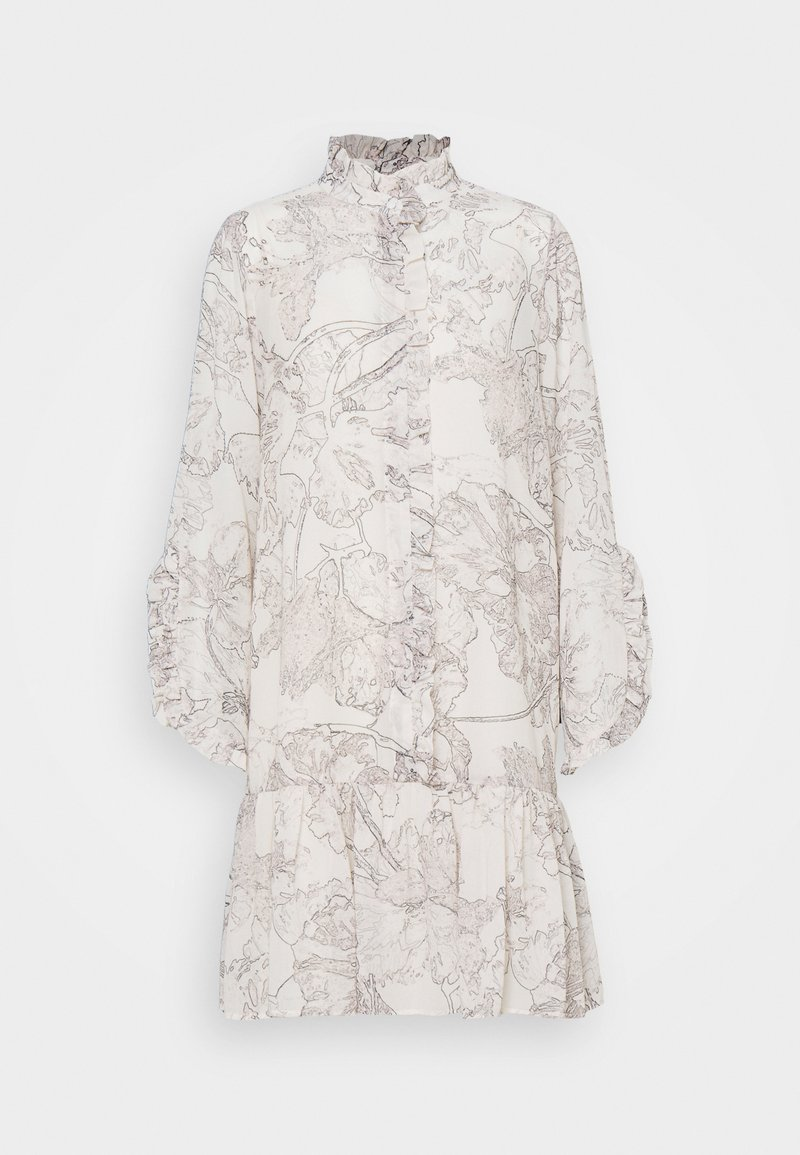 Bruuns Bazaar - IVY ROSEMARY DRESS - Shirt dress - snow white