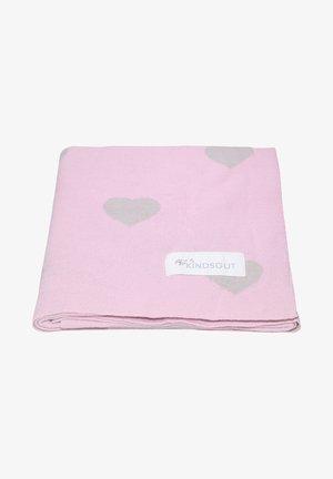 KINDERDECKE - Baby blanket - herzen