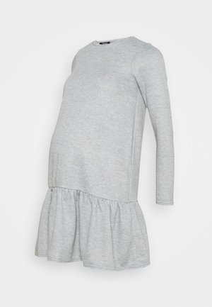 DROP HEM DRESS - Sukienka z dżerseju - mid grey