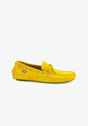 CITY DRIVERS - Moccasins - yellow