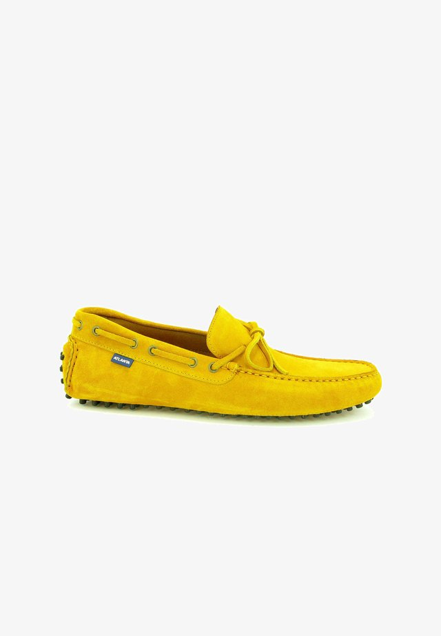 CITY DRIVERS - Mocassins - yellow
