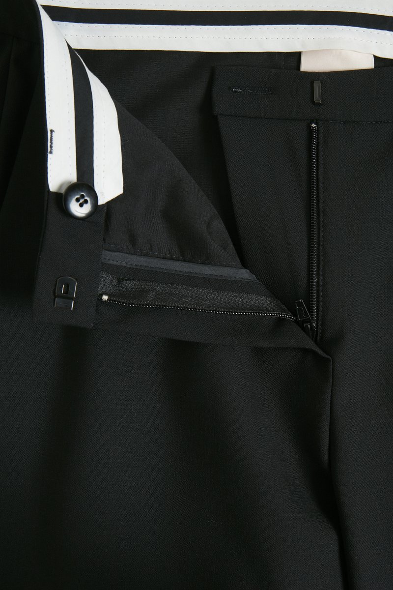 Karen by Simonsen SYDNEY - Stoffhose - black/schwarz op6y6T