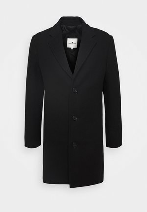 COAT THREE BUTTONS - Zimní kabát - black