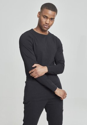 HERREN - Long sleeved top - black
