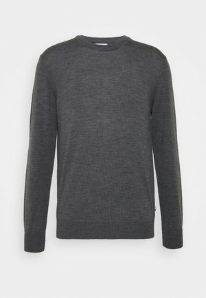 TED - Strikkegenser - antractite grey mel