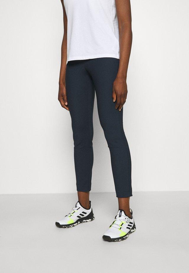 GRACE NARROW PANTS - Spodnie treningowe - blue shadow
