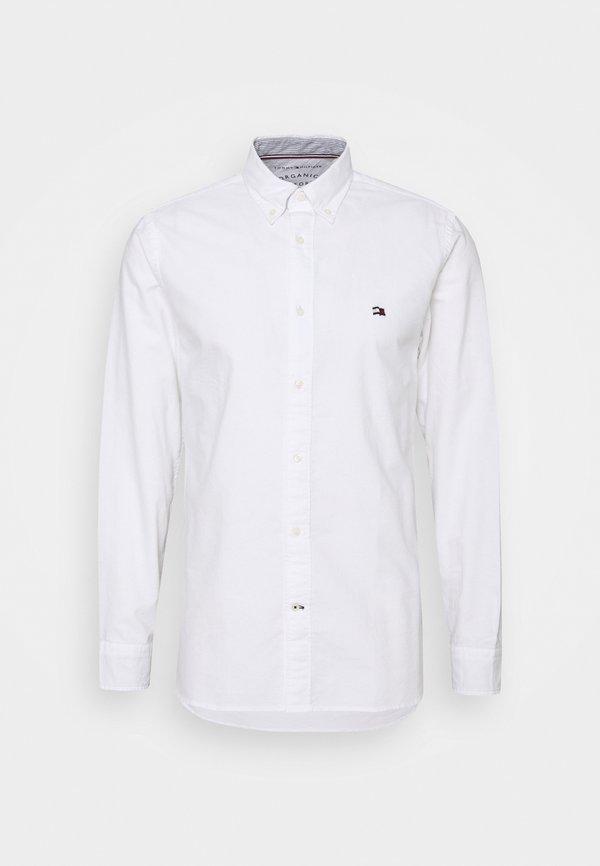 Tommy Hilfiger CLASSIC OXFORD - Koszula biznesowa - white/biały Odzież Męska FJQI