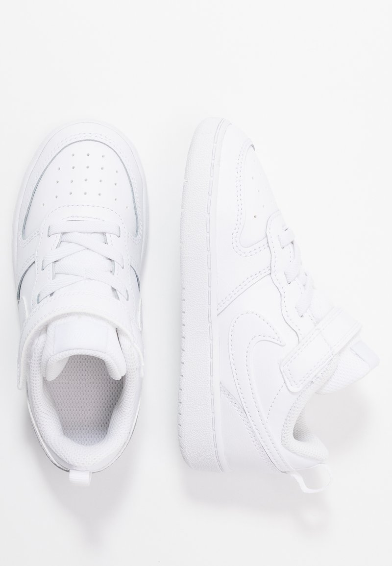 Nike Sportswear - COURT BOROUGH 2 UNISEX - Sneaker low - white