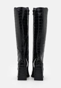 CAFèNOIR - High heeled boots - nero - 3