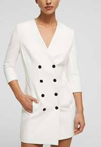 KARL LAGERFELD - Shirt dress - off white - 4