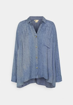 ISABEL  - Button-down blouse - river