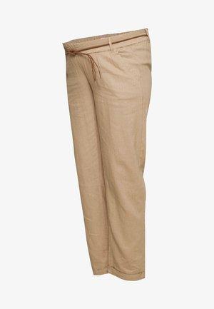 MLBEACH BELT PANT - Trousers - brown
