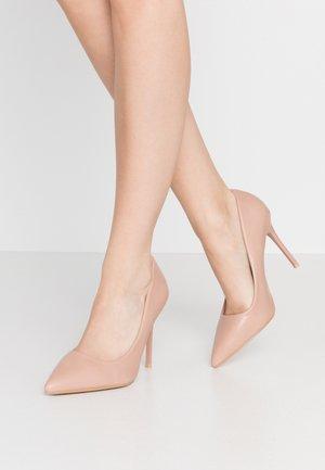 Høye hæler - pink