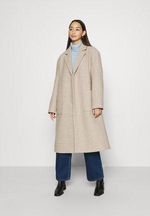 IRMA BELTED COAT - Manteau classique - greige