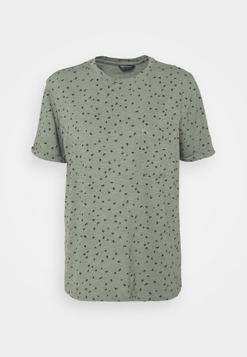 POCKET PRINT - Print T-shirt - green
