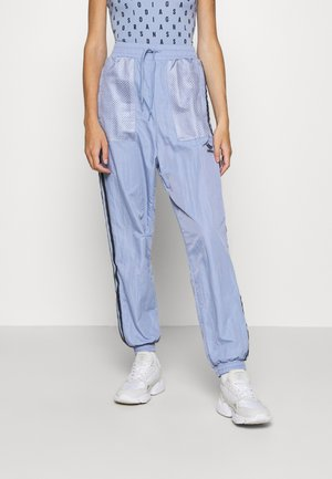 SPORTS INSPIRED PANTS - Tracksuit bottoms - chalk blue