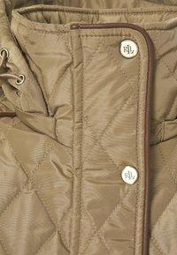 Lauren Ralph Lauren - JACKET BELT - Winter coat - sand - 7