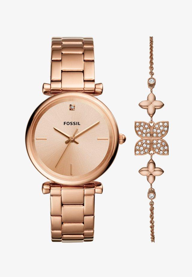 CARLIE SET - Watch - rose gold-coloured