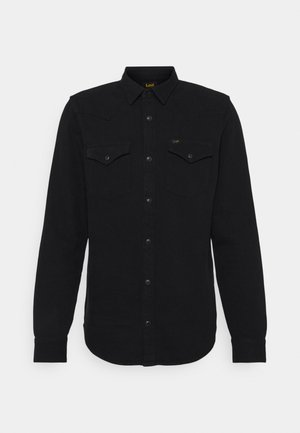 REGULAR WESTERN - Camisa - black