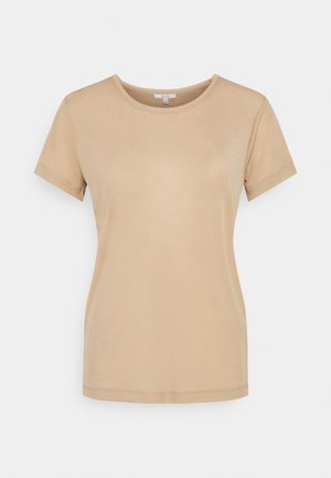 UPAMA - Basic T-shirt - sand