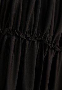 Bershka - MIT TRÄGERN - Maxi dress - black - 4