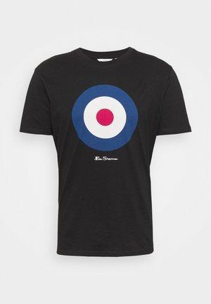 TARGET TEE - T-shirt con stampa - black