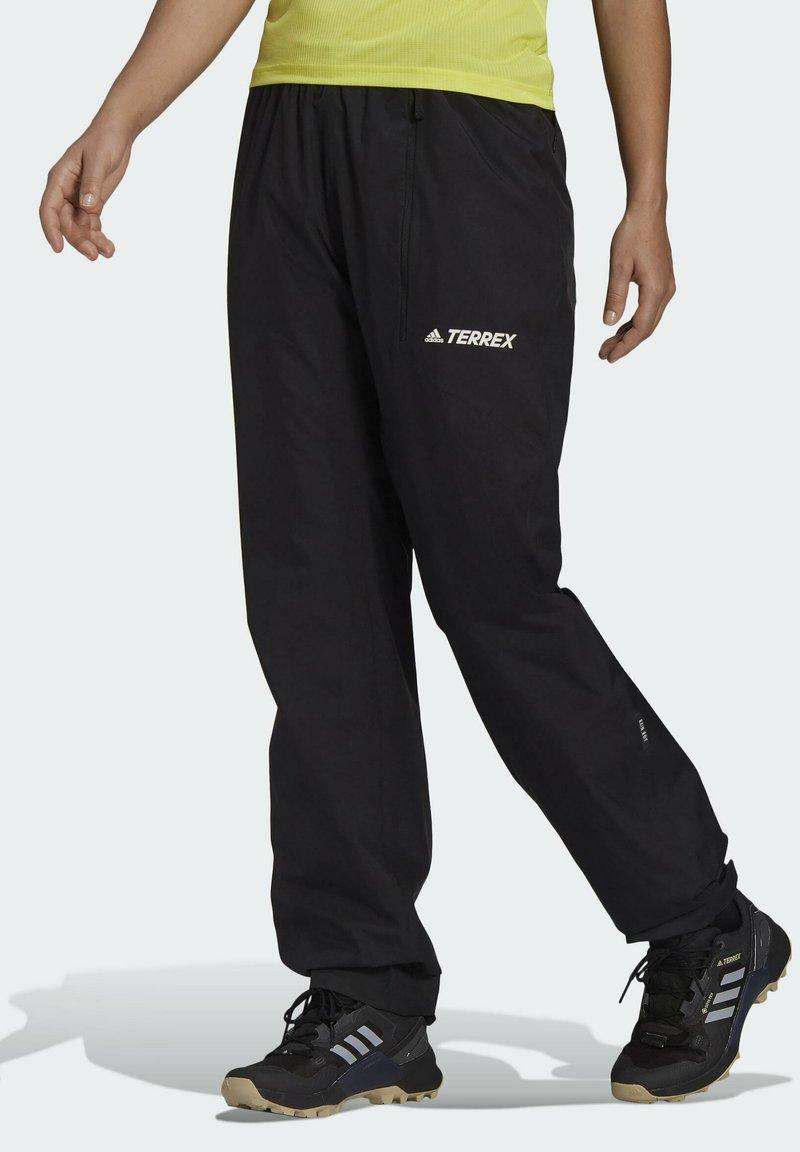 adidas Performance - W MT RAIN PANT - Bukse - black