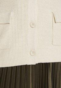 ONLY - ONLFLORELLE - Waistcoat - whitecap gray melange - 6
