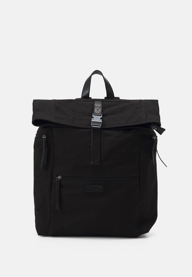 ZAC ROLL TOP BACKPACK UNISEX - Reppu - black
