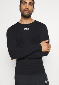 JAKO - LONGSLEEVE COMFORT - Long sleeved top - black - 3