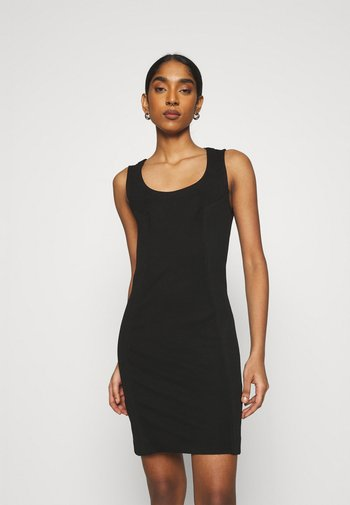 D-REKI - Jersey dress - black