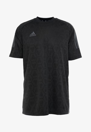 TAN - Print T-shirt - black