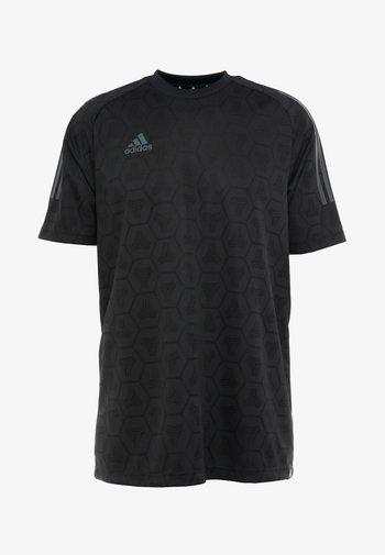TAN - T-shirt imprimé - black