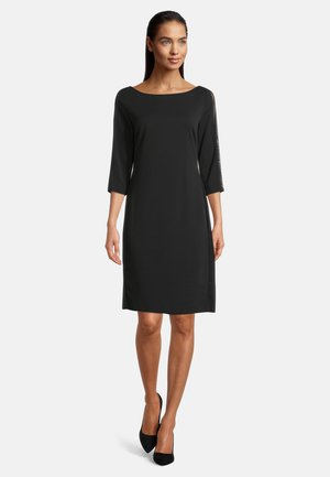 ELEGANT - Shift dress - zwart