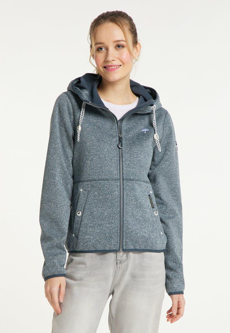 Schmuddelwedda - Light jacket - rauchmarine melange