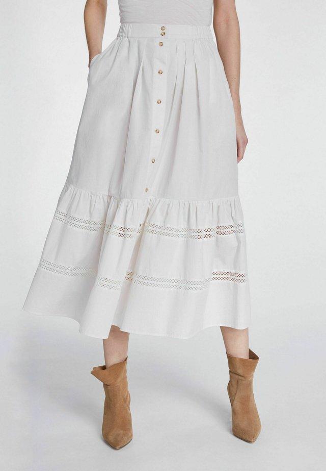 A-line skirt - cloud dancer
