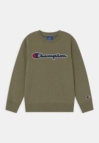 Champion Rochester - LOGO CREWNECK UNISEX - Sweatshirt - khaki - 0
