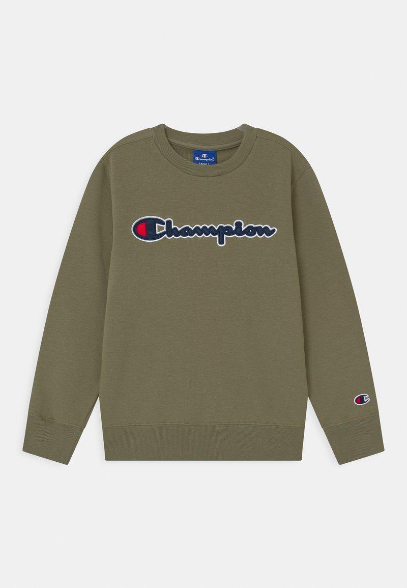 Champion Rochester - LOGO CREWNECK UNISEX - Sweatshirt - khaki