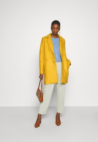 TOM TAILOR - EASY WINTER COAT - Classic coat - california sand yellow - 1