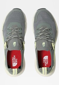 The North Face - HYPNUM - Chaussures de marche - agavegreen/palelimeyellow - 3
