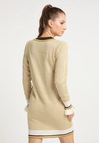 myMo - Jumper dress - senf - 2