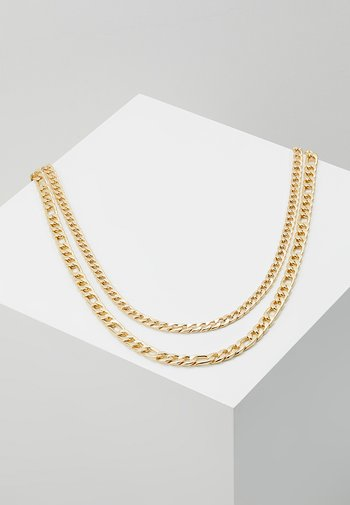 FIGARO 2 ROW - Necklace - gold-coloured