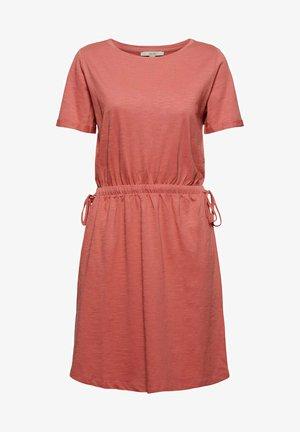 Jersey dress - blush