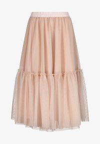 Nicowa - Pleated skirt - lachs - 3