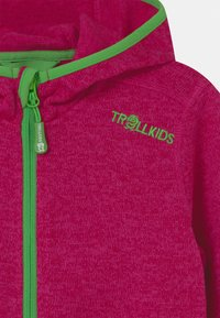 TrollKids - JONDALEN  - Fleece jacket - pink/green - 2