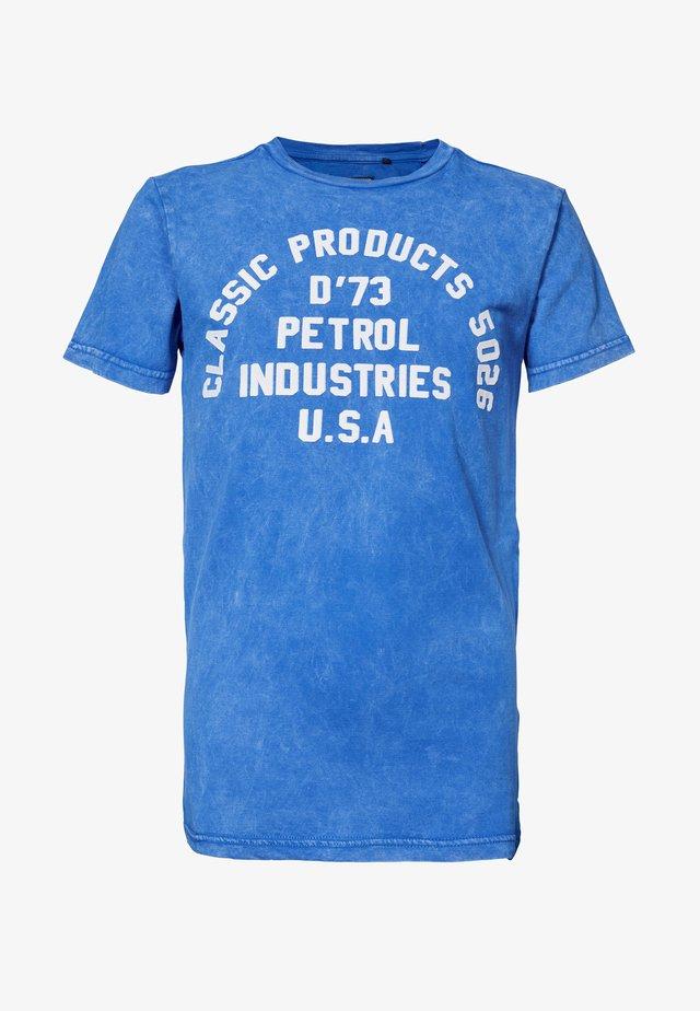 Camiseta estampada - antartic blue