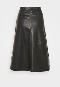 comma casual identity - A-line skirt - black - 0