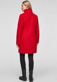 s.Oliver - Classic coat - red - 2
