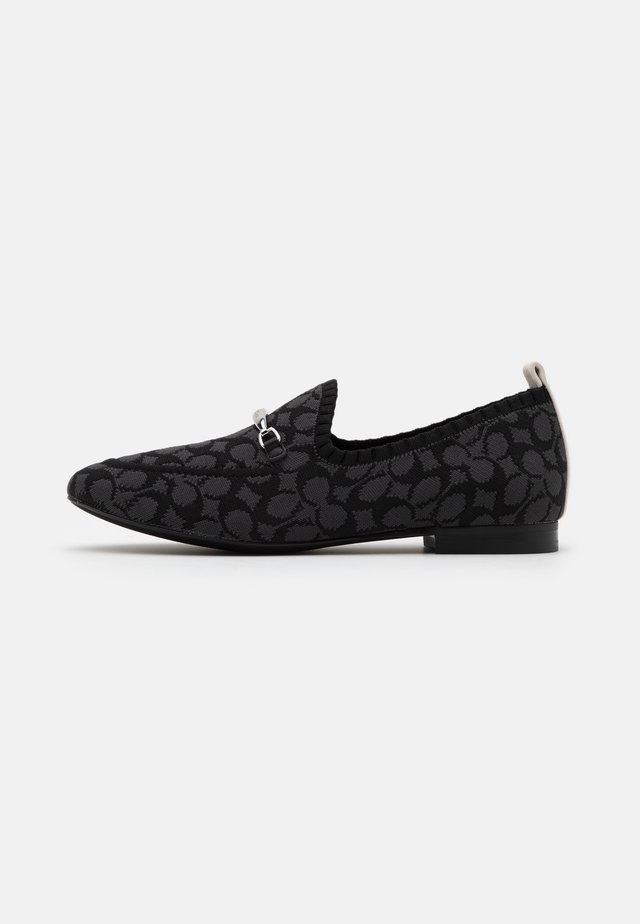 HARLING LOAFER - Półbuty wsuwane - black